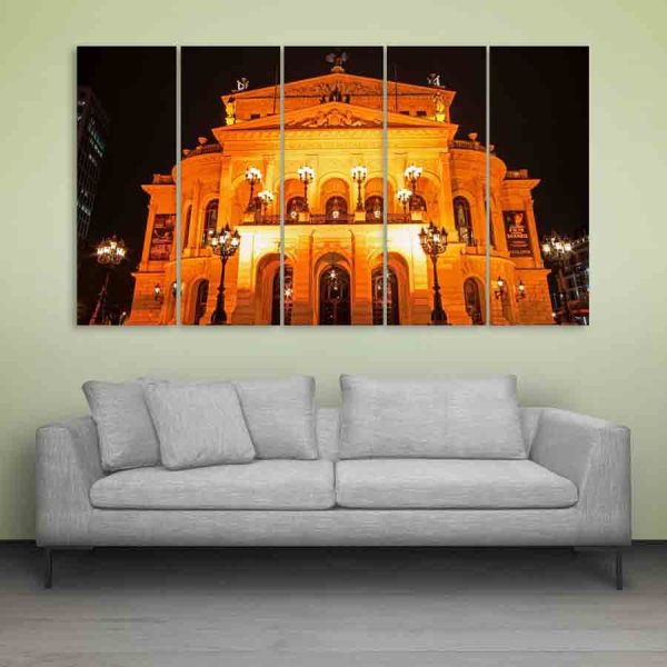 Multiple Frames Frankfurt Wall Painting (150cm X 76cm)
