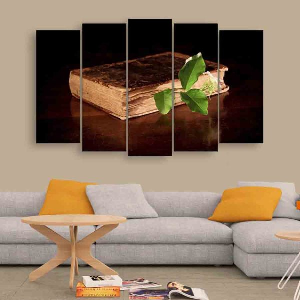 Multiple Frames Ancient Book Wall Painting (150cm X 76cm)