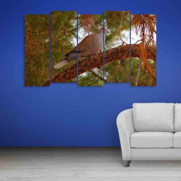 Multiple Frames Bird Wall Painting (150cm X 76cm)