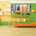 Multiple Frames Cup Wall Painting (150cm X 76cm)