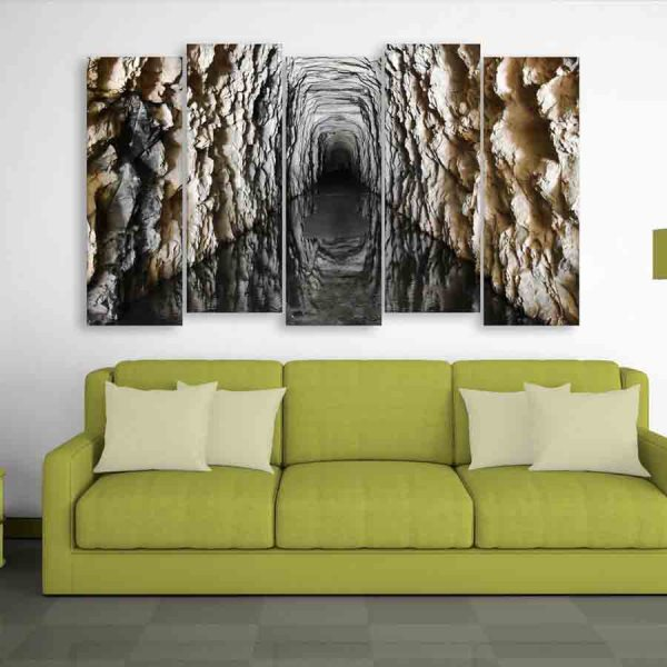 Multiple Frames Tunnel Wall Painting (150cm X 76cm)