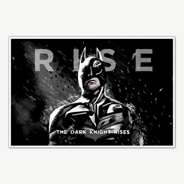 The Dark Knight Rises Batman Poster Art   Movie Poster