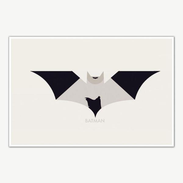 The Dark Knight Trilogy Batman Poster Art | Movie Poster