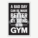 Gym Fitness Quotes Poster Art   Gym Motivation Posters