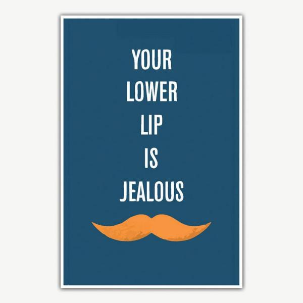 Mustache Poster | Funny Posters