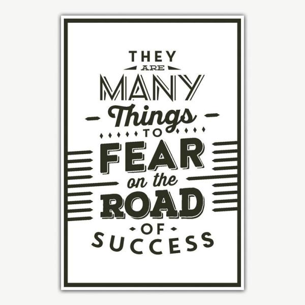 Success Quote Poster Art | Inspirational Posters