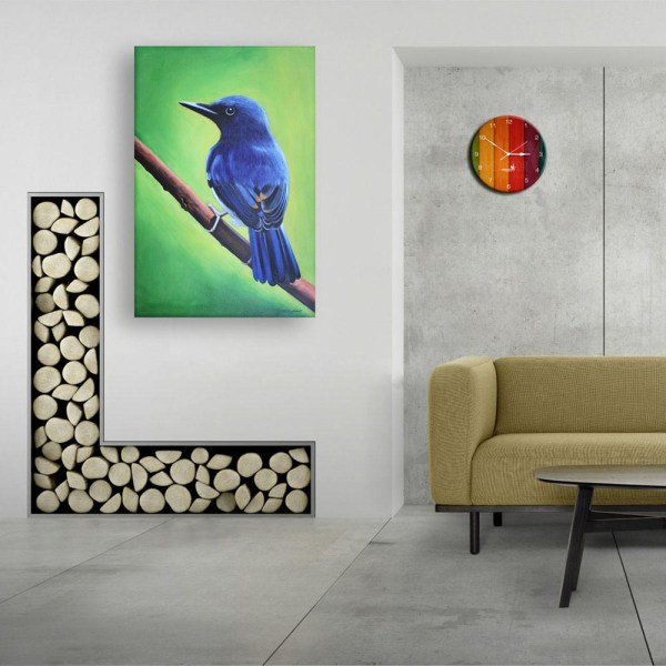 Canvas Painting - Beautiful Bird Wall Painting for Living Room