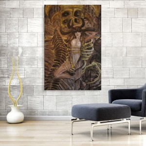 Canvas Painting - Modern Women Abstract Art Wall Painting for Living Room