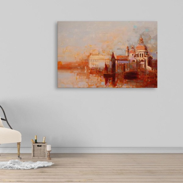 Canvas Painting - Beautiful Fort Art Wall Painting for Living Room