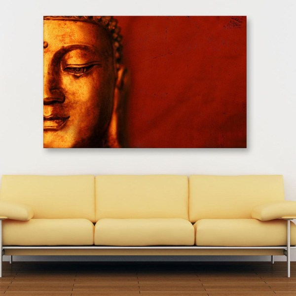 Canvas Painting - Beautiful Buddha Art Wall Painting for Living Room