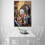 Canvas Painting - Beautiful Bazaar Of Baghdad Art Modern Wall Painting for Living Room