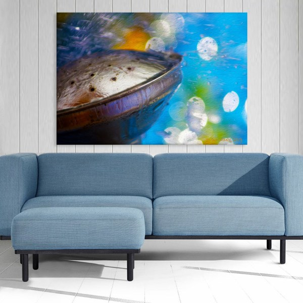 Canvas Painting - Beautiful Underwater View Art Wall Painting for Living Room