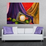 Canvas Painting - Still Life Illustration Art Wall Painting for Living Room