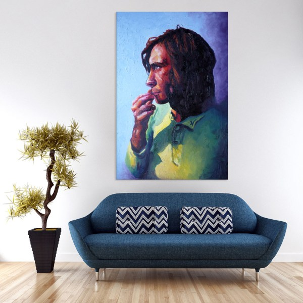 Canvas Painting - Beautiful Self Portrait Art Wall Painting for Living Room