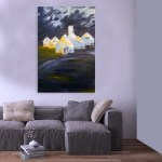 Canvas Painting - Beautiful Barn Art Wall Painting for Living Room