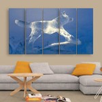 Multiple Frames Beautiful Ice Wall Painting for Living Room