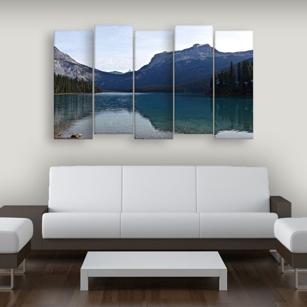 Multiple Frames Beautiful Landscape Wall Painting for Living Room