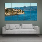 Multiple Frames Beautiful Norway Wall Painting for Living Room