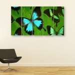 Multiple Frames Butterfly Wall Painting for Living Room