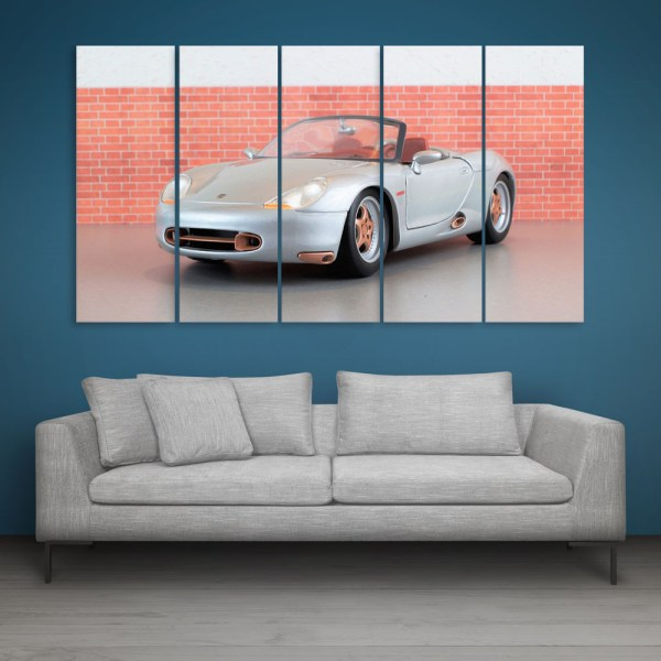 Multiple Frames Car Wall Painting for Living Room