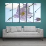 Multiple Frames Beautiful Flower Wall Painting for Living Room