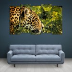 Multiple Frames Beautiful Tiger Wall Painting for Living Room