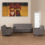 Multiple Frames Beautiful Toys Wall Painting for Living Room