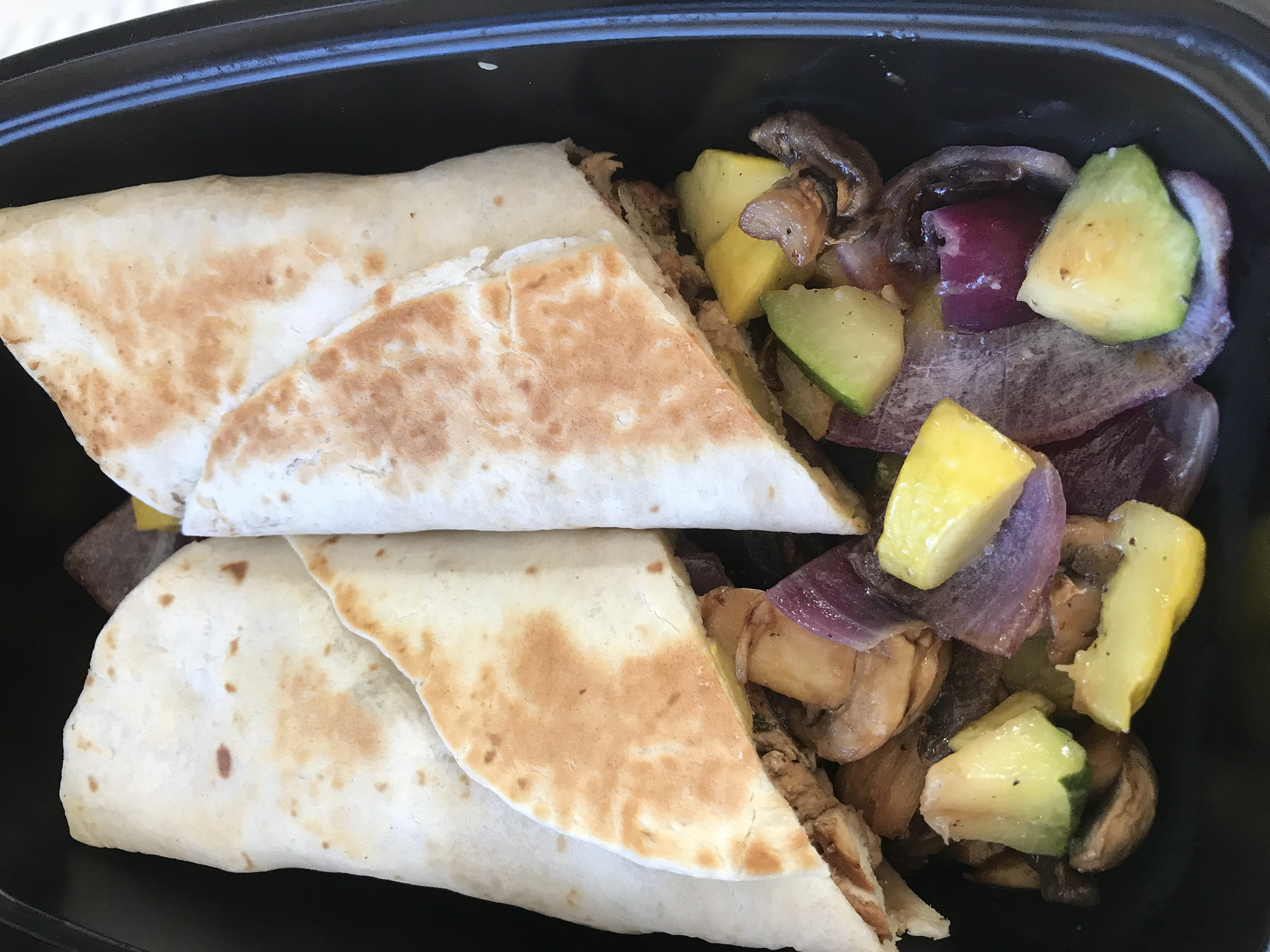 classic grilled vegetable wrap
