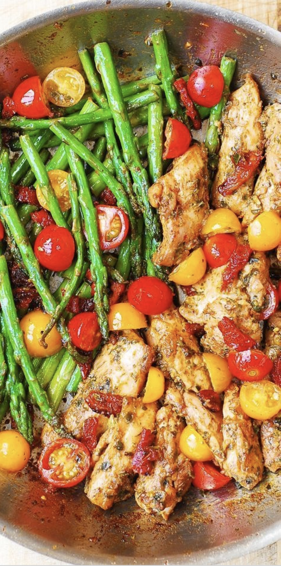 chicken cooked with stewed tomatoes