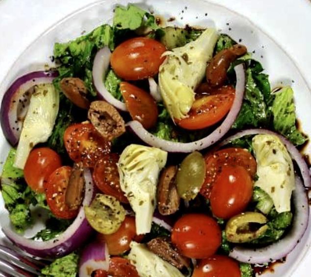 artichoke greek salad