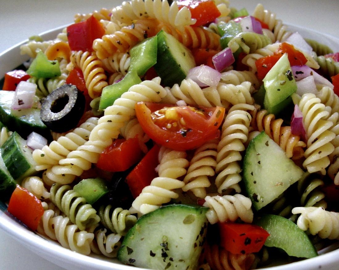gluten free cold pasta salad