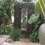 arredare il giardino con Gabbioni Metallici