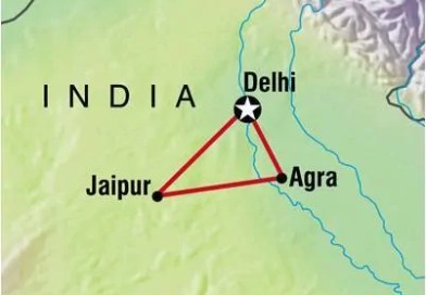 Golden Triangle of India : Delhi-Agra-Jaipur – Part-1