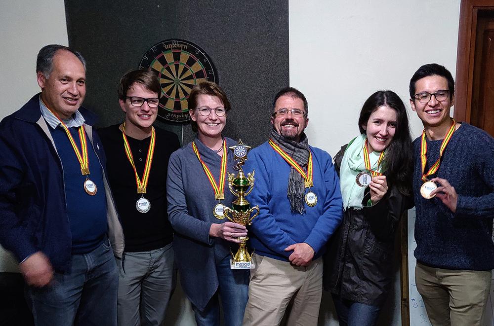 2019 Dream Team Dart Tournament   Fun at INESAD