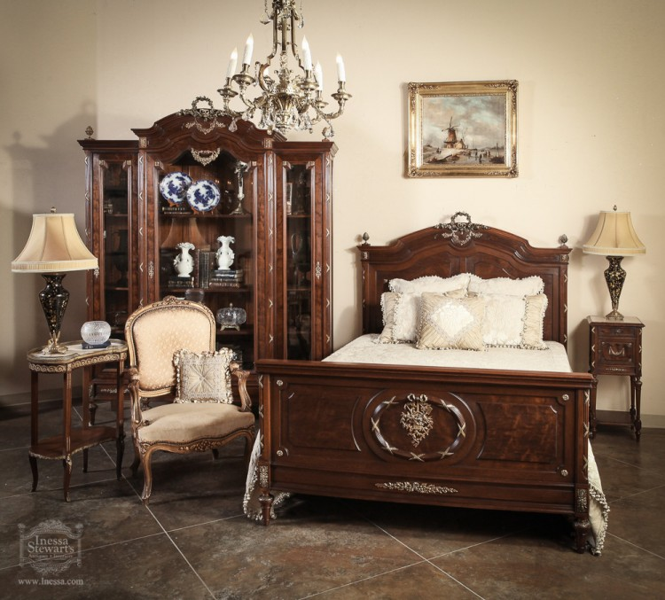 antique of the week ~ antique french louis xvi bedroom set
