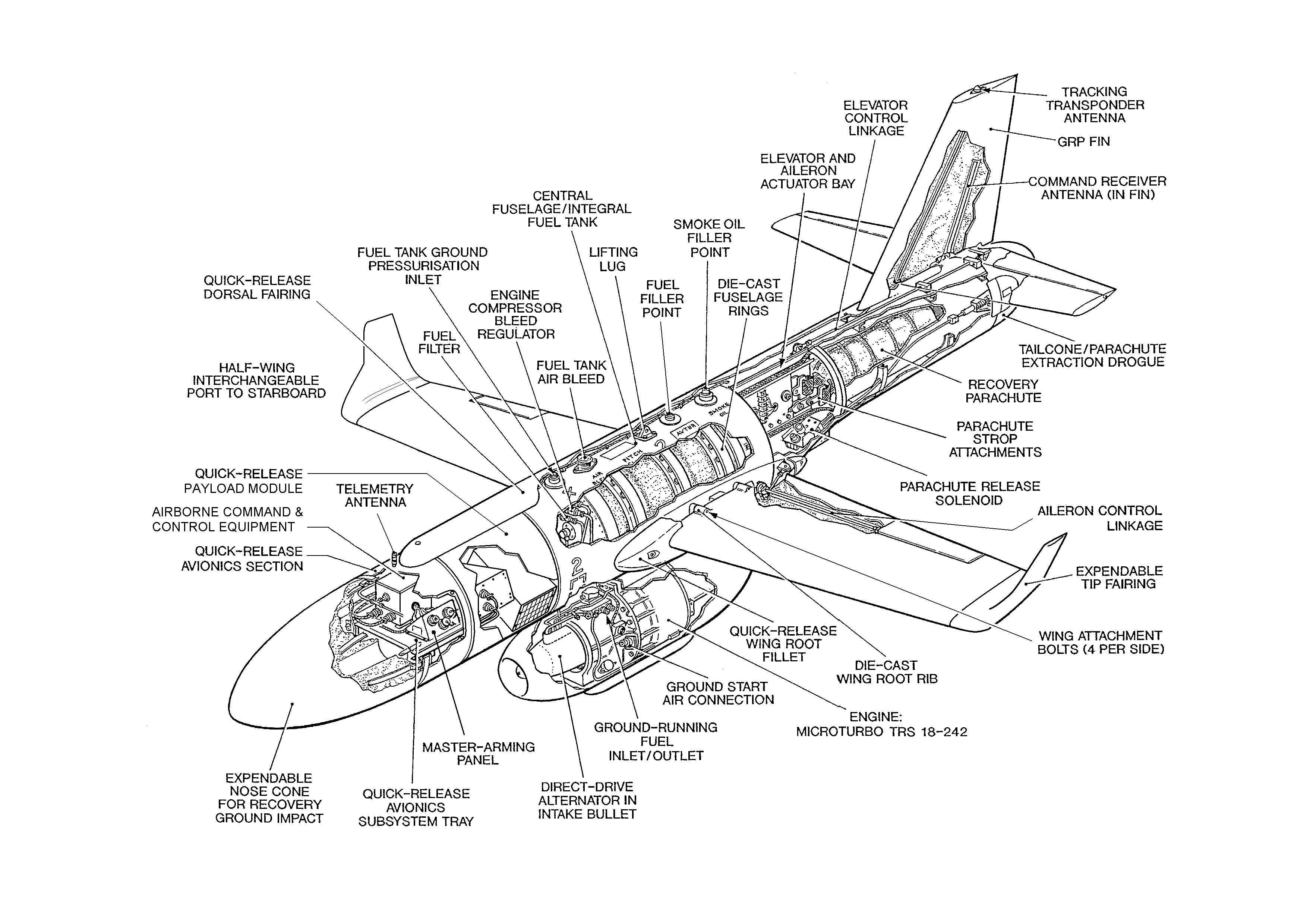 Bolkow Bo105c Cutaway