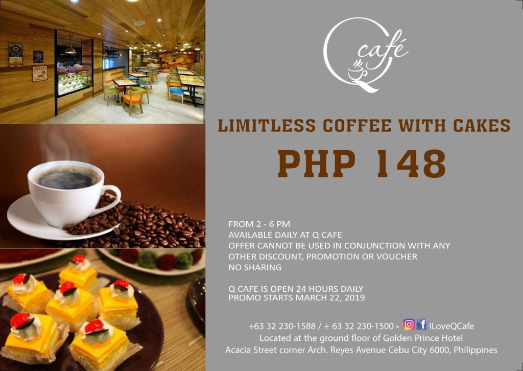 Limitless Coffee with Cakes