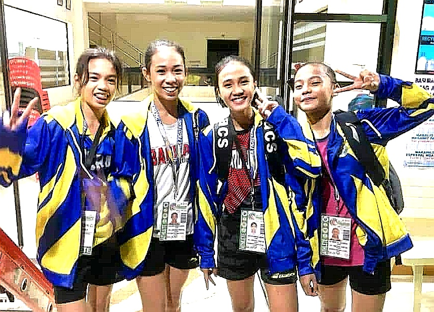 Central Visayas Elementary Girls Badminton Team