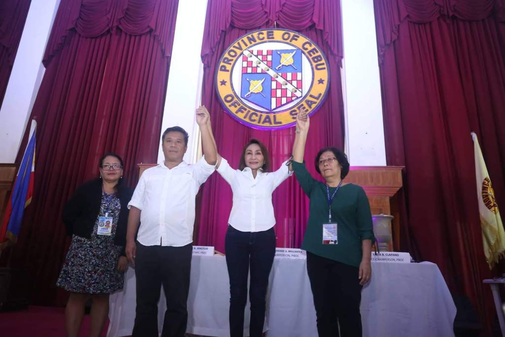 Gwen proclaimed as new governor