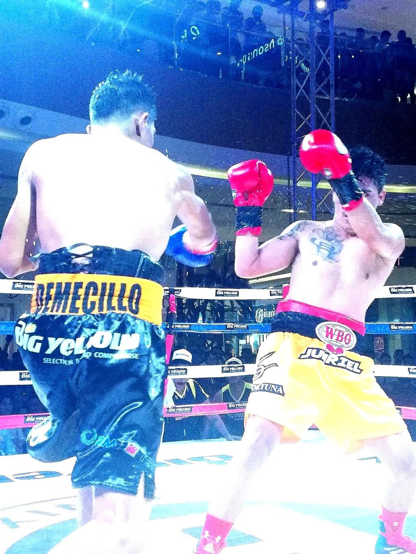 Carlo Demecillo vs. Junriel Jimenez Fight (2)