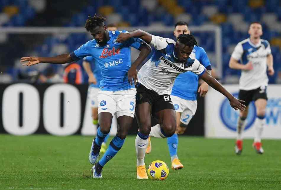 Coppa Italia, Napoli-Atalanta