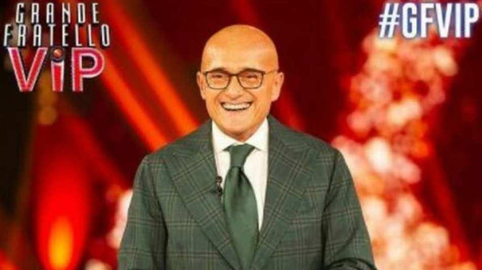 GF Vip 5, il presentatore Alfonso Signorini (foto © Mediaset).