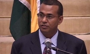 Minister of Natural Resources and Environment, Robert Persaud.