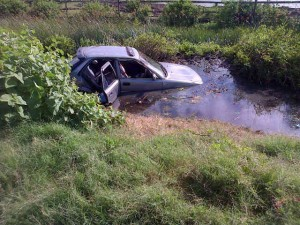 The scene of the accident (Photo: Citizen Reporter)