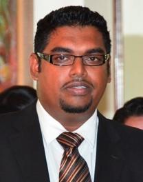 Tourism Minister [ag], Irfaan Ali.