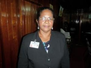 Farmers' Representative in the Pomeroon Mrs. Vilma Da Silva