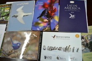 Some of the international tour catalogues in which Guyana is featured