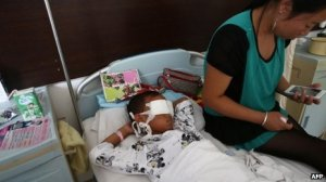 The little boy is out of danger and is now recovering in hospital