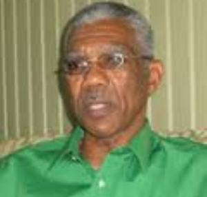 Leader of the APNU, David Granger.