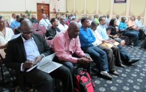 A section of the gathering at the security seminar. [iNews' Photo]